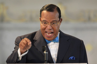 Louis Farrakhan, the leader of the Nation of Islam