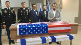 Taylor Force's funeral in Israel in 2016