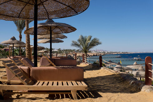 A resort in the Sinai city of Sharm el-Sheikh. Egypt is proving popular with Russian travelers despite the pandemic