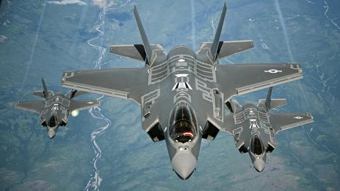 American F-35 fighter jets