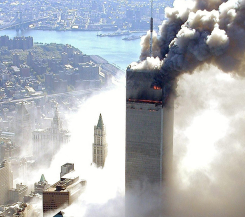 The attack on the World Trade Center, September 11, 2001