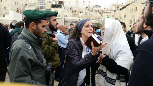 Liberal Women of the Wall clash with ultra-Orthodox over the right to pray at the Western Wall in 2016