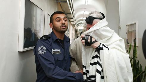 Eliezer Berland during his sex abuse case, for which he was jailed
