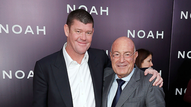 James Packer and Arnon Milchan