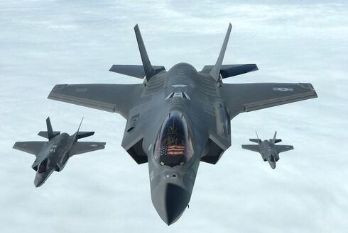 An American-made F-35 fighter jet