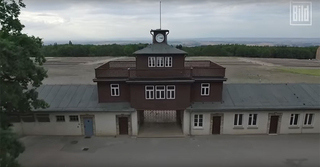 The former Nazi concentration camp Buchenwald