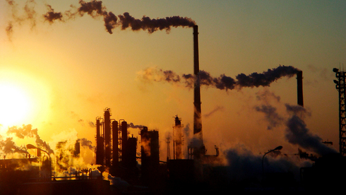 Polluting chemical plant in China
