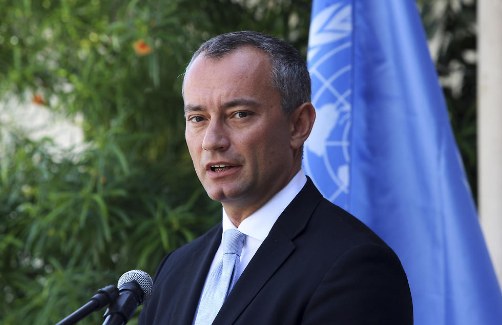 UN Special Envoy for the Middle East Nickolay Mladenov