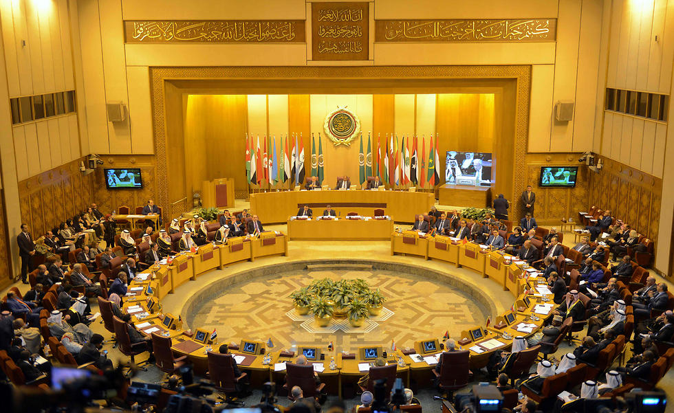 Arab League emergency meeting in Cairo to oppose the Trump peace plan