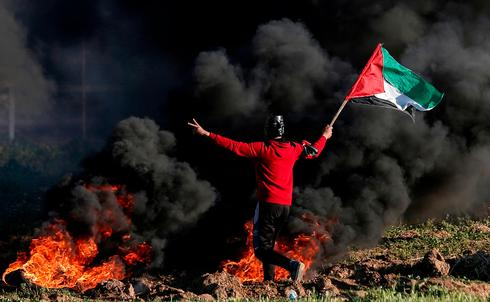 March of Return protests on the Gaza border
