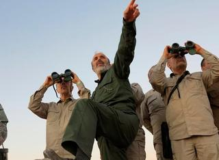Iranian Chief of Staff, General Mohammad Bagheri in Syria