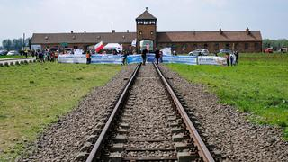 The 'March of the Living' annual event at Auschwitz death camp in Poland
