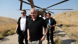 PM Netanyahu in the Jordan Valley