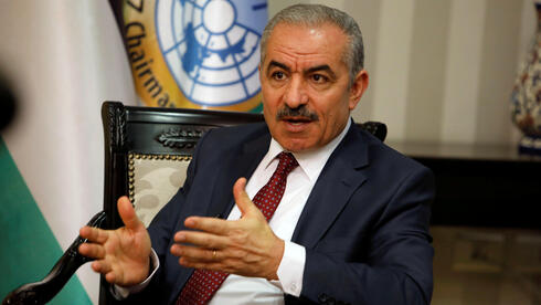 Palestinian Prime Minister Mohammed Shtayyeh at his office in Ramallah, June 27, 2019