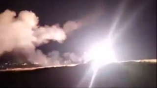 Syrian air defenses go off amid strike near Homs attributed to Israel earlier this year