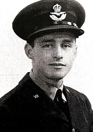 Alex Ziloni during his service in the British Royal Air Force during World War II