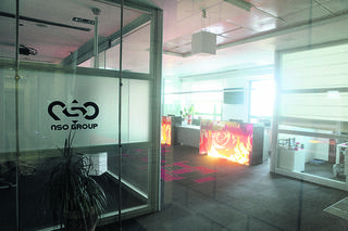 NSO's offices in Israel