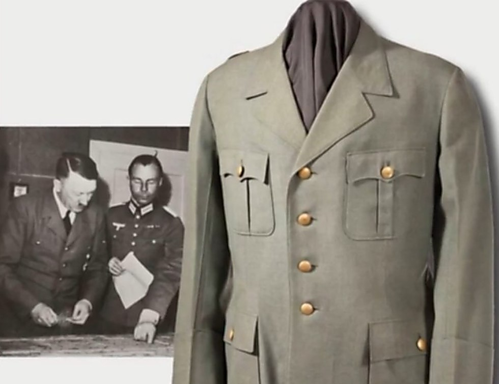 One of the jackets in the collection