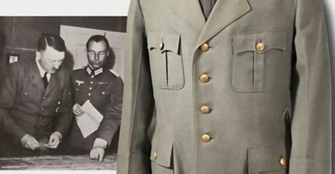 A Nazi jacket for sale in the auction