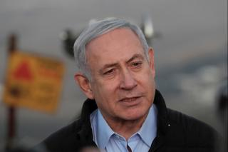 Benjamin Netanyahu day after his indictment was announced