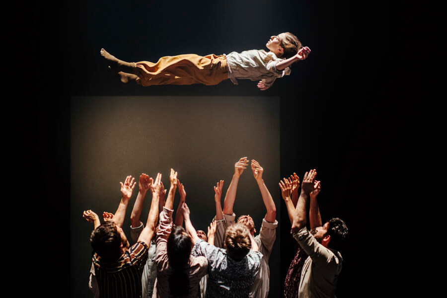 Hofesh Shecter dance company performs its 'Grand Finale' for the LDN in TLV festival
