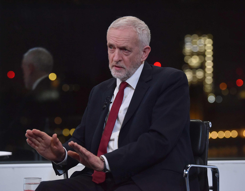 Labour leader Jeremy Corbyn talks to the BBC's Andrew Neil