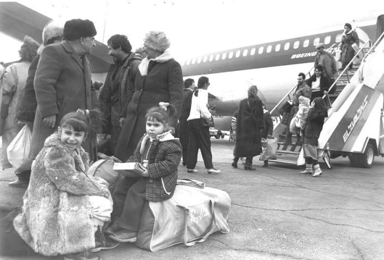 Jews migrating from the former USSR