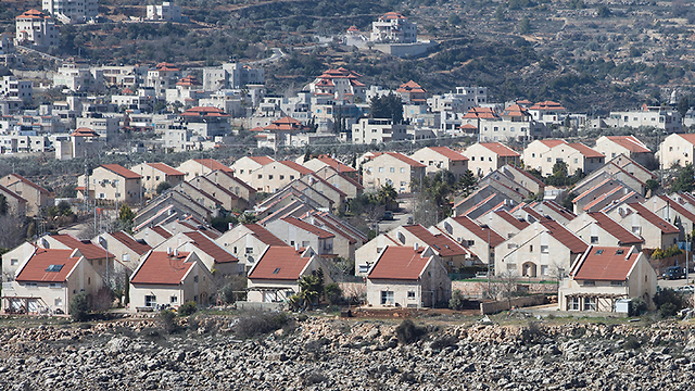 An Israeli settlement in the West Bank