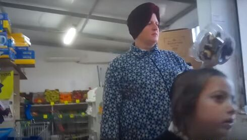 Malka Leifer is caught on camera while out shopping despite her claims of mental instability
