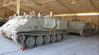 APCs belonging to the 319th Division
