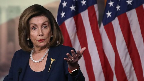 Speaker of the House Nancy Pelosi speaks at her weekly news conference on Capitol Hill, Jan. 16, 2020