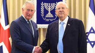 Prince Charles and President Reuven Rivlin