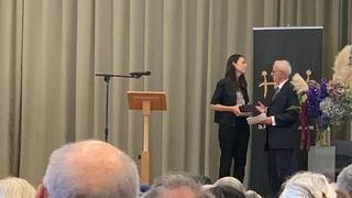 Bob Narev attends New Zealand's Holocaust Remembrance Day
