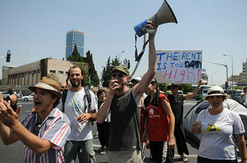 Cost of living protests in Israel in 2011
