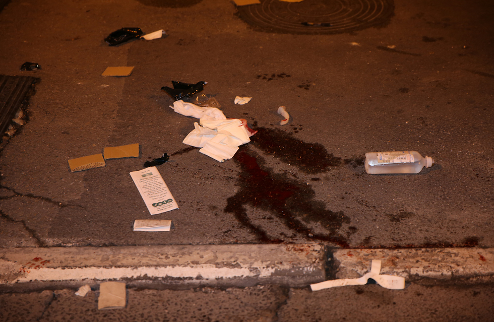 The aftermath of the Jerusalem attack