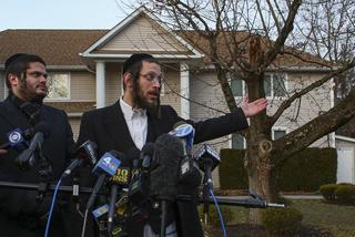 Gluck speaks to media after Monsey attack