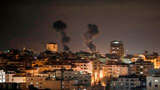 IDF airstrikes on Gaza in response to rockets fired into Israel