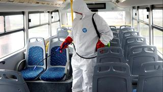 Busses being disinfected in northern Israel amid coronavirus fears