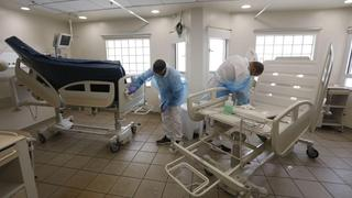 A special unit at Ichilov Hospital meant for the treatment of coronavirus patients