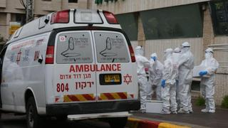 Emergency medical teams in Bnei Brak
