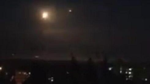 Alleged IDF attack on Iran's targets in Syria last month