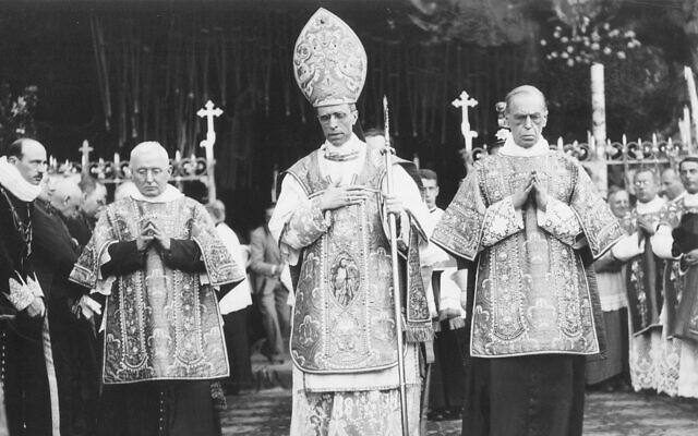 Pope Pius XII in an undated photograph
