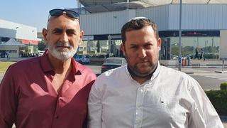 Head of the Yesha Council, David Elhayani, and the head of the Shomron Regional Council, Yossi Dagan