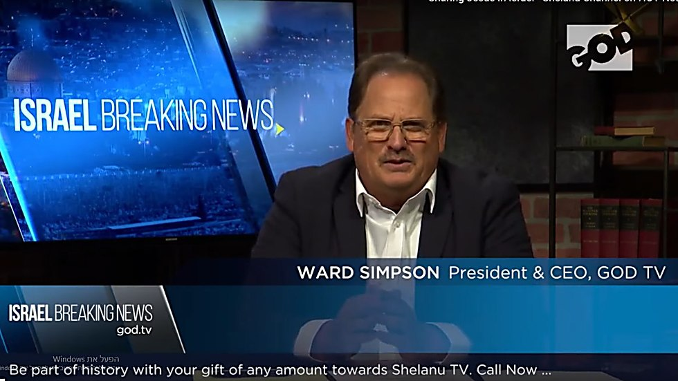GOD TV President and CEO, Ward Simpson