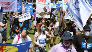 A protest by tourism industry workers