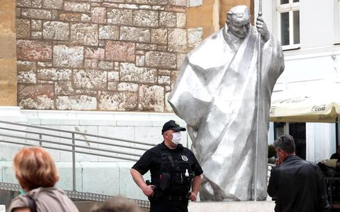 Police guard location of Mass expected next Saturday commemorating Nazi supporters