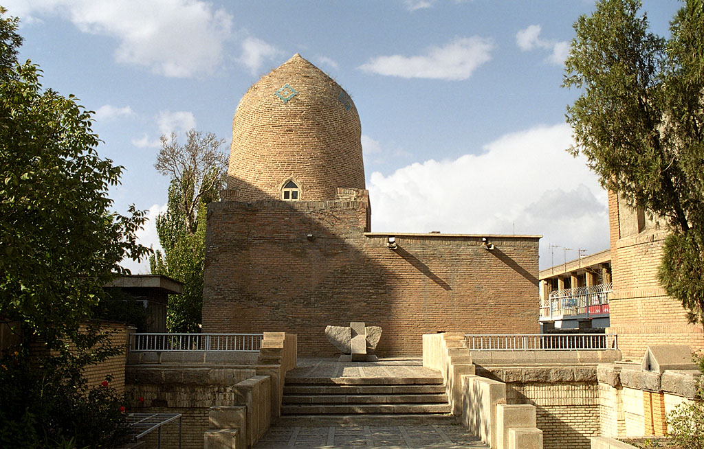 The traditional tomb of Esther and Mordechai in Hamadan, Iran