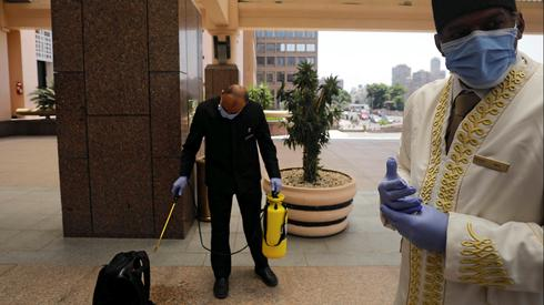 Hotels in Egypt amid epidemic