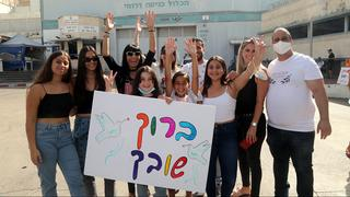 Nati Haddad's family welcomes him in Israel