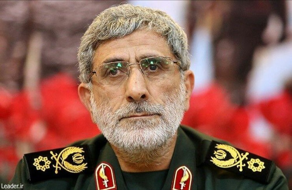 Maj. Gen. Esmail Ghaani, the new commander of the Revolutionary Guard's Quds Force